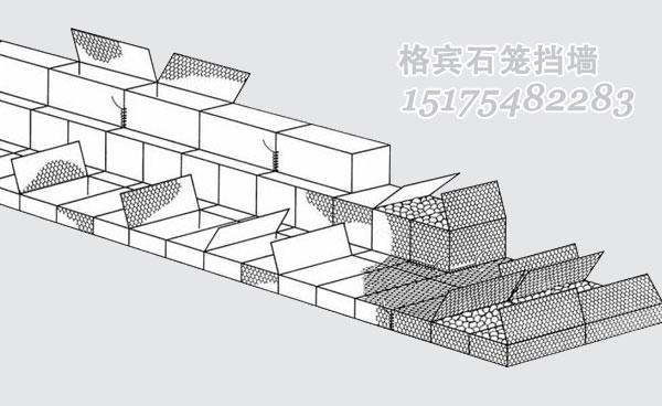 格宾石笼挡墙的现场施工步骤